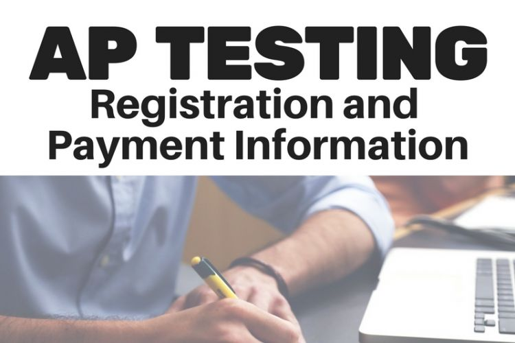 AP registration is going on now!  Read about the new AP test deadline and cancellation fees