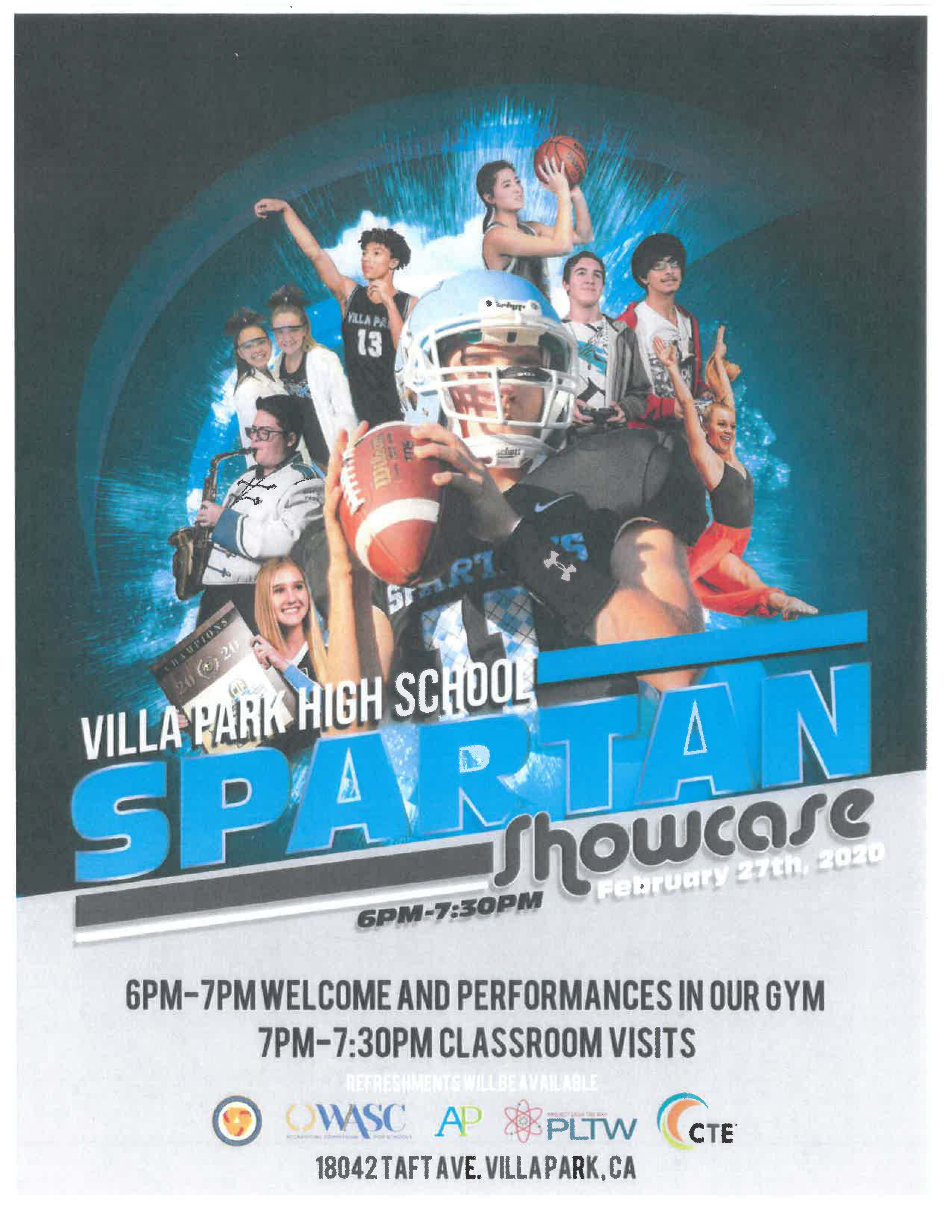 Spartan Showcase  February 27th